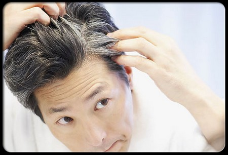 how to keep hair from turning gray