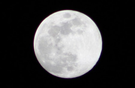 Full Moon Why We See Only One Side of Moon?