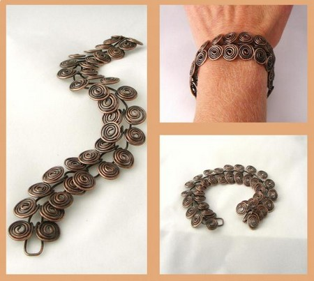 Oxidized Copper Egyptian Coil Bracelet Why Does Copper Oxidize