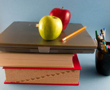 Apple and Books Why Are Apples Associated With Teachers