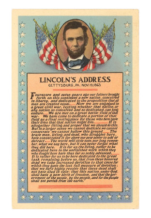 Gettysburg Address Snipet Why Did Lincoln Write the Gettysburg Address